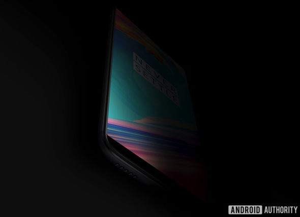 OnePlus 5T teaser image, leaked online by Android Authority