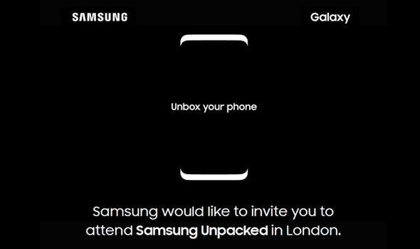 Samsung is due to hold a press event in London to debut the Samsung Galaxy S8 and Galaxy S8