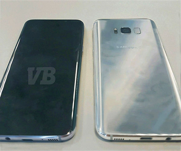 Renown leaker Evan Blass leaked an image of the Samsung Galaxy S8