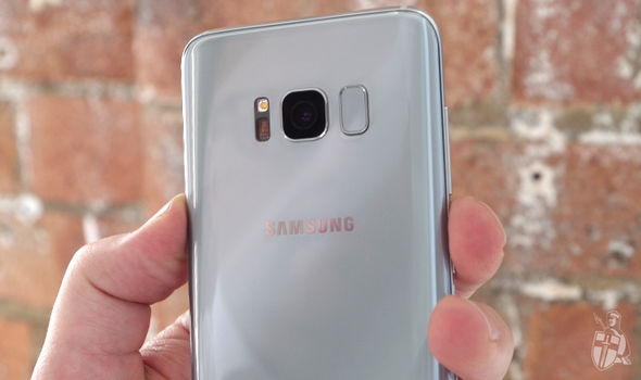 Samsung had to relocate the fingerprint scanner to the rear of the phone