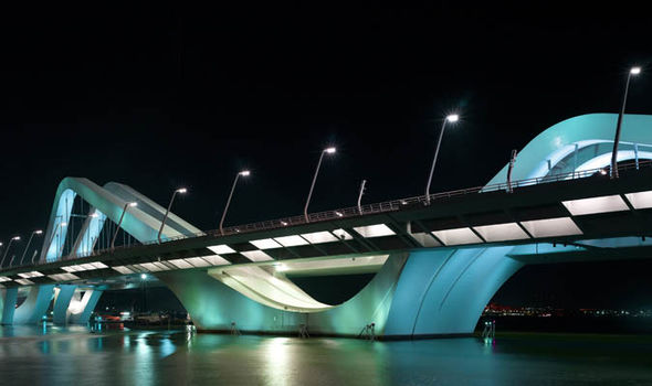 Sheik Zayed Bridge by Zaha Hadid