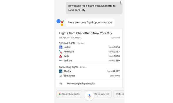 android 7.0 nougat google assistant flights cheap