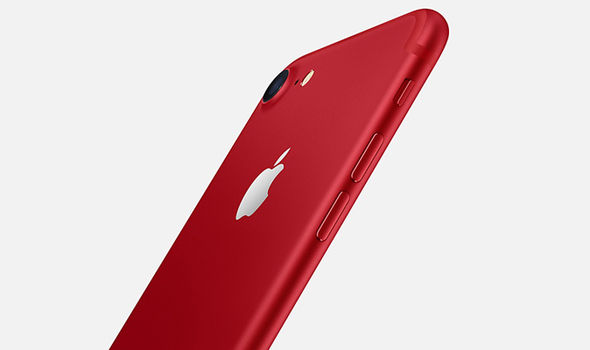 The new crimson aluminium finish marks 10 years of partnership between Apple and (RED)