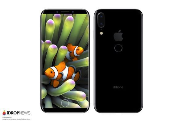 Renders of the what the iPhone 8 would look like if it followed the Galaxy S8's lead