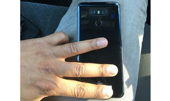 LG G6 leaked photo design rear panel