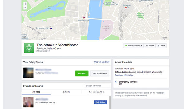 facebook safety check london terror attack