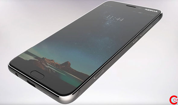 nokia p1 front screen android nougat