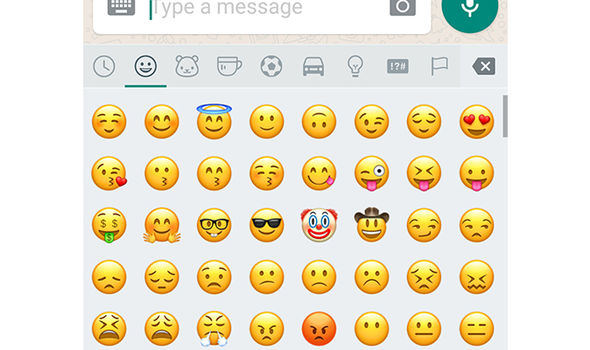 whatsapp new emoji update smiley faces
