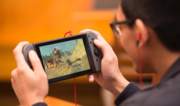 The Nintendo Switch is halfway between a home games console and a handheld portable