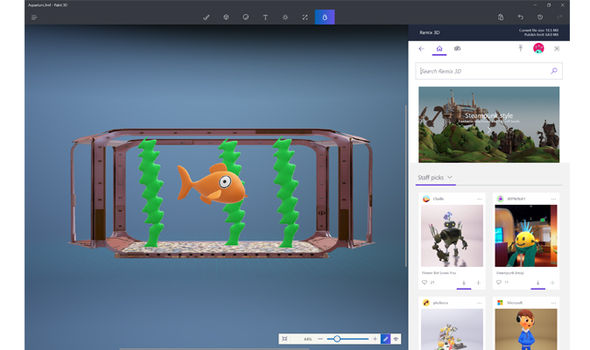 windows 10 creators update paint 3d new app