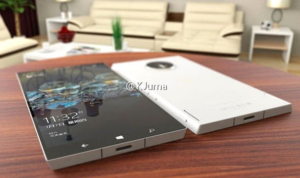 microsoft surface phone design rumours