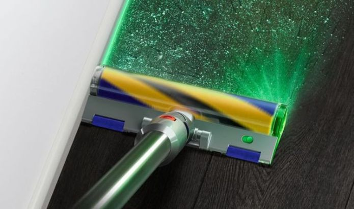 Dyson's new laser-guided vacuum will rid your house of every spec of dust