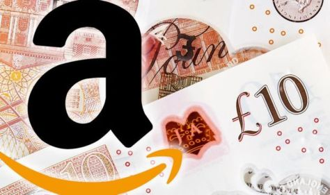 Amazon customers can get £10 off by using this code on iPhone or Android