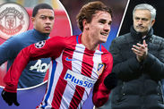 Manchester United Transfer News Antoine Griezmann Memphis Depay Atletico Madrid