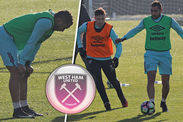 Dimitri Payet West Ham training under-23s sportgalleries