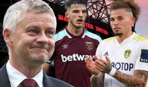 Man Utd plotting Leeds transfer raid after ditching Declan Rice plan