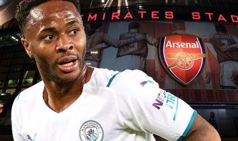 Arsenal plotting Raheem Sterling transfer raid as Mikel Arteta hunts Man City deal