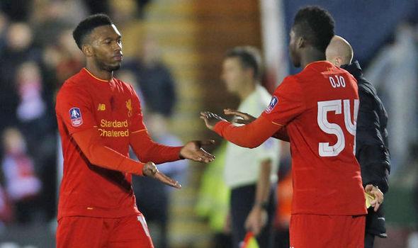 Plymouth Liverpool Steven Gerrard Daniel Sturridge FA Cup