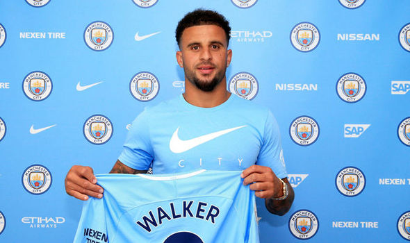 Image result for kyle walker manchester city