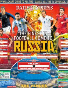 World cup wall chart download your russia version for free now football sport express also rh