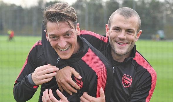 Arsenal transfer news Mesut Ozil Jack Wilshere Fenerbahce gossip rumours