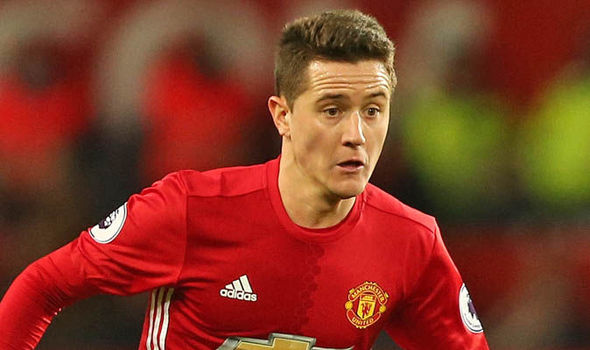 Ander Herrera believes Manchester United are in a good position to claim a top four place