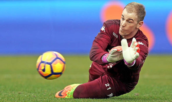 Joe Hart Arsenal Manchester City