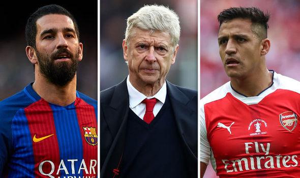 Turan, Wenger, Sanchez
