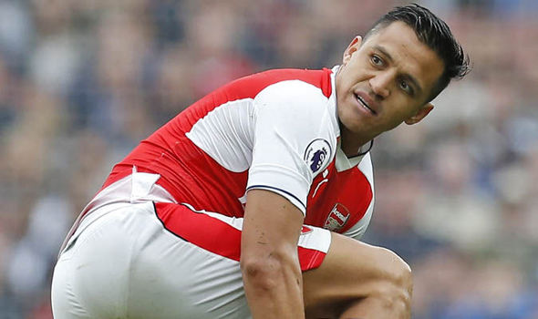 Alexis Sanchez contract update at Arsenal