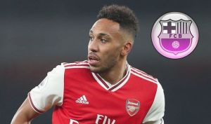 Arsenal striker Aubameyang Agrees Personal Terms With Barcelona