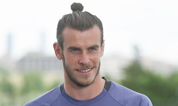 Gareth Bale prior to the Champions League final