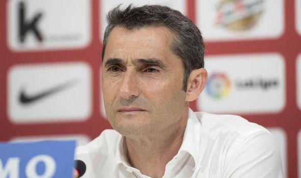 Barcelona News Ernesto Valverde Nou Camp