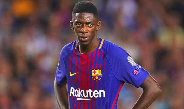 Image result for Ousmane Dembele