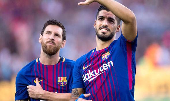 Barcelona news Messi Griezmann Suarez