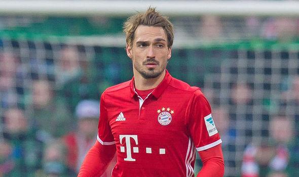 Bayern Munich star Mats Hummels