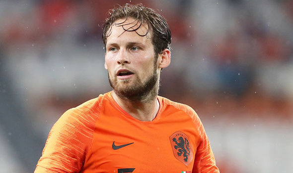 Man Utd Transfer News Daley Blind Move To Ajax Excites