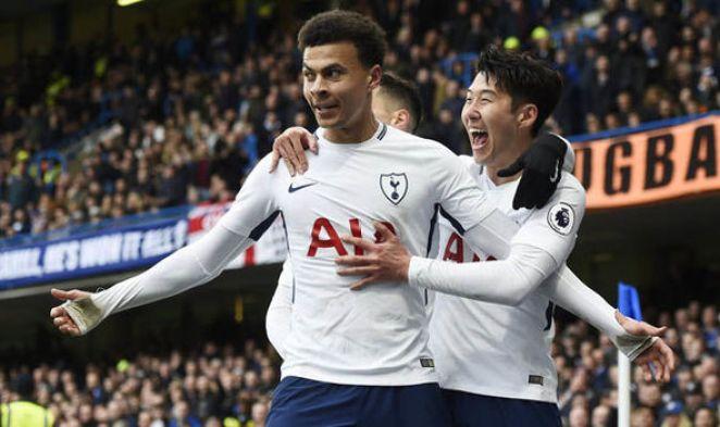Image result for Tottenham 3-1 Chelsea
