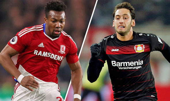 Chelsea transfer targets Calhanoglu and Traore