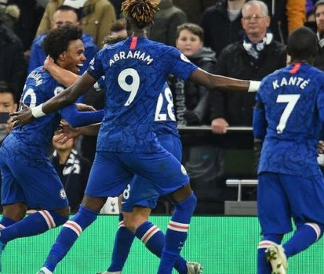 Chelsea Player Ratings Vs Tottenham Willian Haunts Spurs As Kante