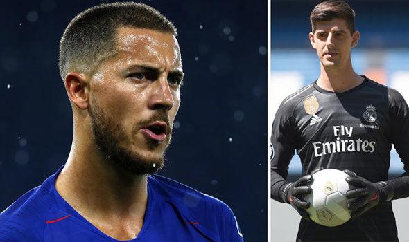 Chelsea Transfer News Thibaut Courtois Makes Eden Hazard