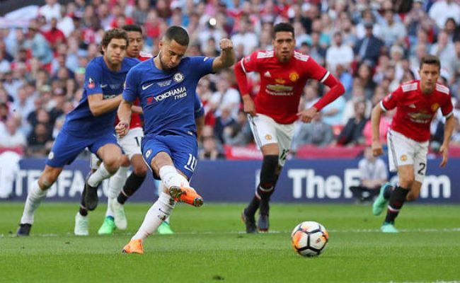 Chelsea 1 Man Utd 0 Eden Hazard Delivers Fa Cup Triumph