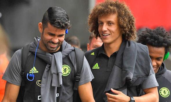Diego Costa David Luiz