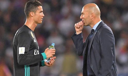 Image result for zidane ronaldo