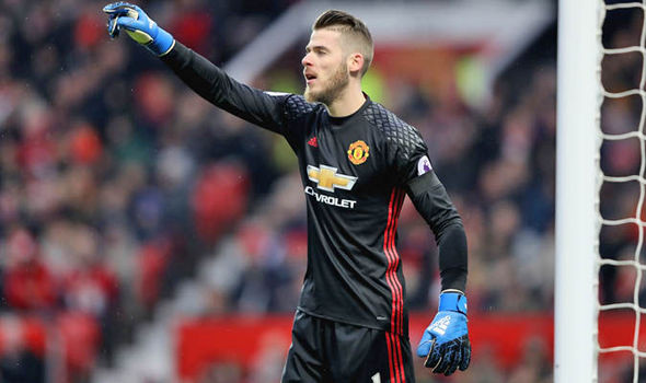 David De Gea Real Madrid Manchester United