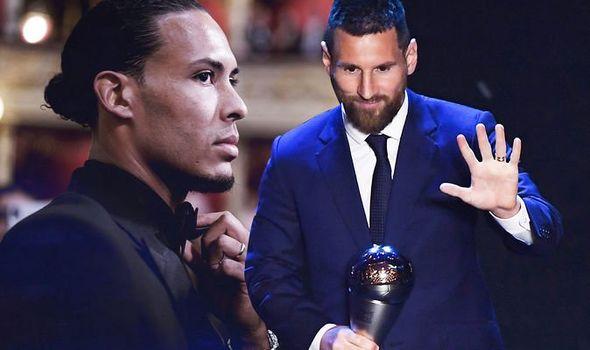 FIFA Best Awards LIVE: Lionel Messi, Cristiano Ronaldo and Virgil van Dijk eyeing prize