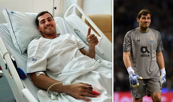 Iker Casillas gives health update after suffering heart attack in ...