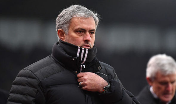 Jose Mourinho at Manchester United