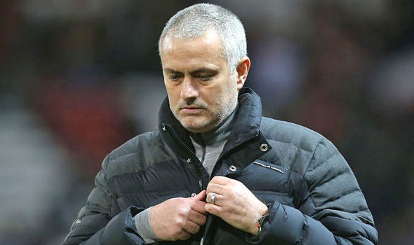 Jose Mourinho walked out of a post-match interview after the 0-0 draw with Hull