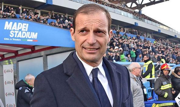Juventus boss Max Allegri