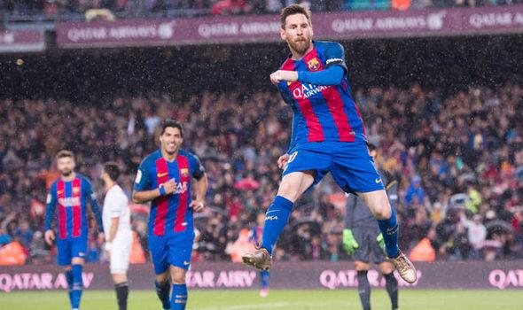 Lionel Messi Barcelona La Liga scores